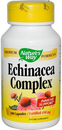 Echinacea Complex, 450 mg, 100 Capsules by Natures Way-Kosttillskott, Antibiotika