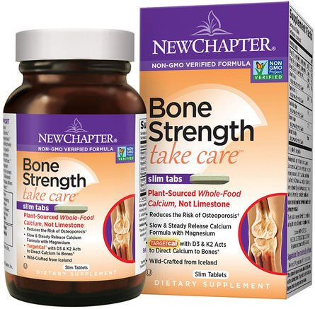 Bone Strength Take Care, 60 Slim Tablets by New Chapter-Hälsa, Ben, Osteoporos