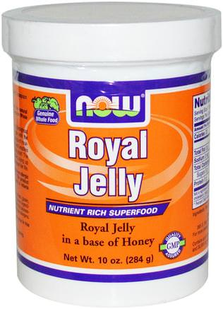Royal Jelly, 10 oz (284 g) by Now Foods-Kosttillskott, Biprodukter, Royal Gelé