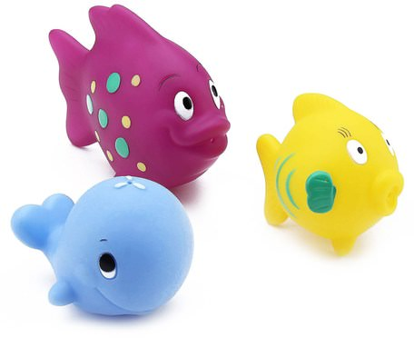 Fun Fish Squirters, 6+m, 3 Pack by Nuby-Barnens Hälsa, Barnleksaker, Badleksaker