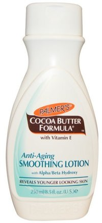 Cocoa Butter Formula, with Vitamin E, Anti-Aging Smoothing Lotion, 8.5 fl oz (250 ml) by Palmers-Skönhet, Ansiktsvård, Hudtyp Anti-Åldrande Hud, Bad, Kroppslotion