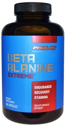 Beta Alanine Extreme, 240 Capsules by ProLab-Kosttillskott, Anabola Kosttillskott, Beta-Alanin