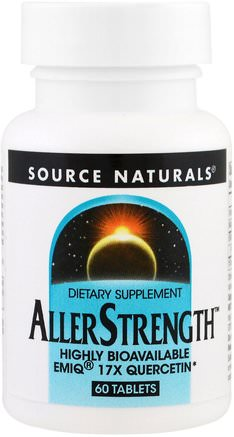 AllerStrength, 60 Tablets by Source Naturals-Hälsa, Allergier, Allergi