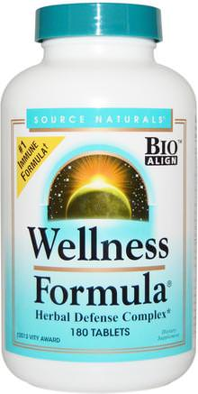 Wellness Formula, With Andrographis and Propolis Extract, 180 Tablets by Source Naturals-Kosttillskott, Antibiotika, Andrografier, Biprodukter, Bi Propolis