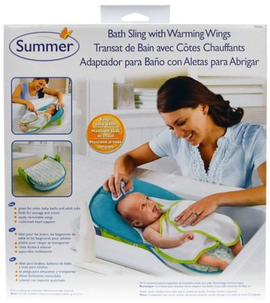 Bath Sling with Warming Wings, 1 Set by Summer Infant-Barns Hälsa, Barnbad, Bebis, Barn