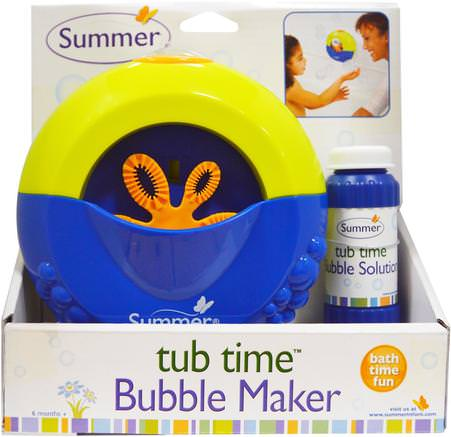 Tub Time, Bubble Maker by Summer Infant-Barnens Hälsa, Barnleksaker, Badleksaker