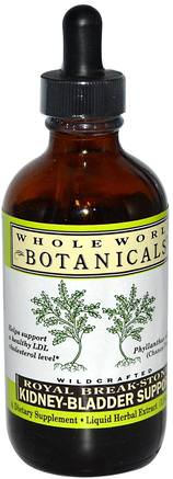Royal Break-Stone, Kidney-Bladder Support, 4 oz (118 ml) by Whole World Botanicals-Hälsa, Blåsan, Njuren