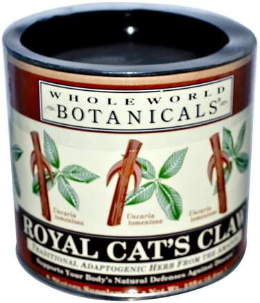 Royal Cats Claw, 4.4 oz (125 g) by Whole World Botanicals-Örter, Katter Klo (Ua De Gato)