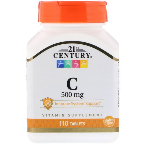 21st Century, C, 500 mg, 110 Tablets Review