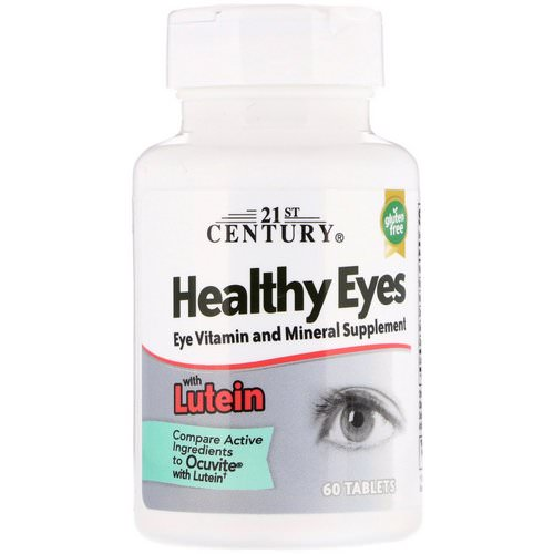 21st Century, Healthy Eyes with Lutein, 60 Tablets Review
