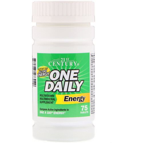 21st Century, One Daily Energy, 75 Tablets Review