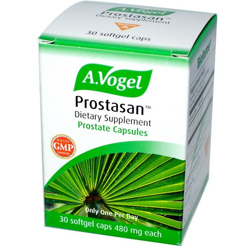 A Vogel, Prostasan, Prostate Capsules, 480 mg, 30 Softgel Caps Review