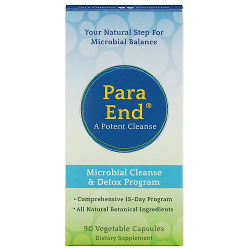 Aerobic Life, ParaEnd, A Potent Cleanse, 90 Vegetable Capsules Review