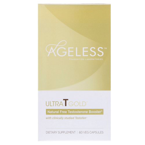 Ageless Foundation Laboratories, UltraT Gold, 60 Veg Capsules Review