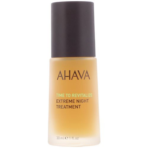 AHAVA, Time To Revitalize, Extreme Night Treatment, 1 fl oz (30 ml) Review