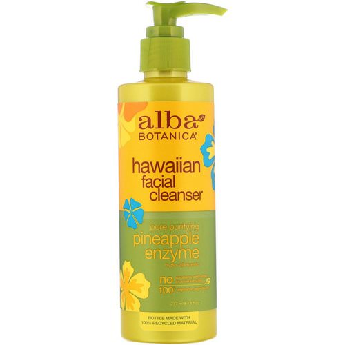 Alba Botanica, Hawaiian Facial Cleanser, Pore Purifying Pineapple Enzyme, 8 fl oz (237 ml) Review