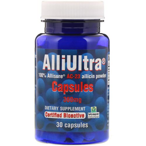 Allimax, AlliUltra Capsules, 360 mg, 30 Capsules Review