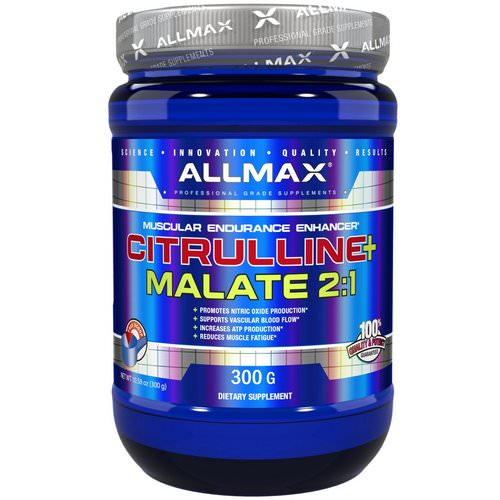 ALLMAX Nutrition, Citrulline Malate, Unflavored, (300 g) Review