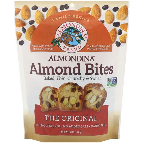 Almondina, Almond Bites, The Original, 5 oz (142 g) Review
