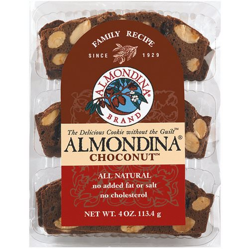 Almondina, Choconut, Almond and Chocolate Biscuits, 4 oz (113 g) Review