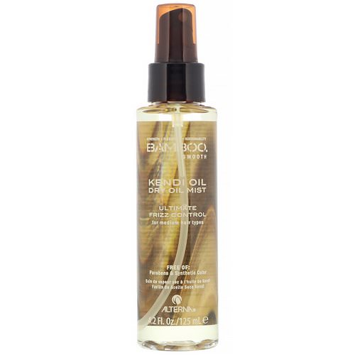 Alterna, Bamboo Smooth, Kendi Oil, Dry Oil Mist, 4.2 fl oz (125 ml) Review