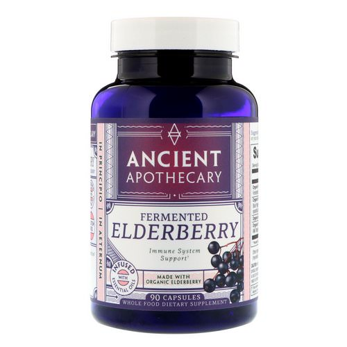 Ancient Apothecary, Fermented Elderberry, 90 Capsules Review
