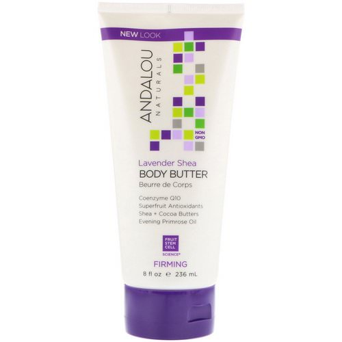 Andalou Naturals, Body Butter, Firming, Lavender Shea, 8 fl oz (236 ml) Review
