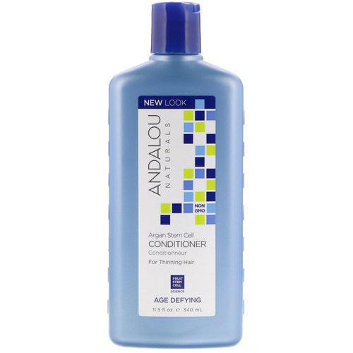Andalou Naturals, Conditioner,Age Defying, For Thinning Hair, Argan Stem Cells, 11.5 fl oz (340 ml) Review
