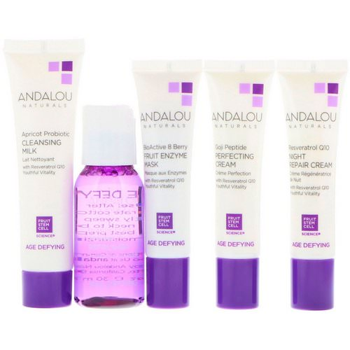 Andalou Naturals, Get Started, Age Defying, Skin Care Essentials, 5 Piece Kit Review