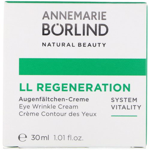 AnneMarie Borlind, LL Regeneration, Eye Wrinkle Cream, 1.01 fl oz (30 ml) Review