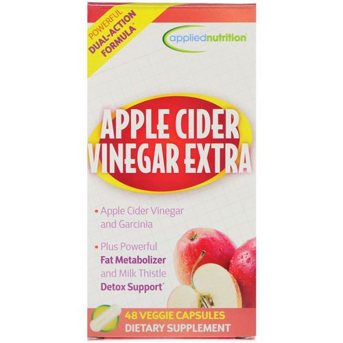 appliednutrition, Apple Cider Vinegar Extra, 48 Veggie Capsules Review