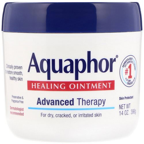 Aquaphor, Healing Ointment, Skin Protectant, 14 oz (396 g) Review