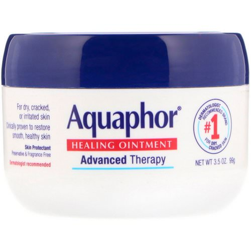 Aquaphor, Healing Ointment, Skin Protectant, 3.5 oz (99 g) Review