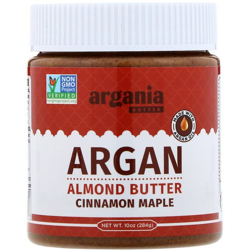 Argania Butter, Argan Almond Butter, Cinnamon Maple, 10 oz (284 g) Review