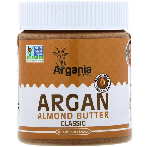 Argania Butter, Argan Almond Butter, Classic, 10 oz (284 g) Review