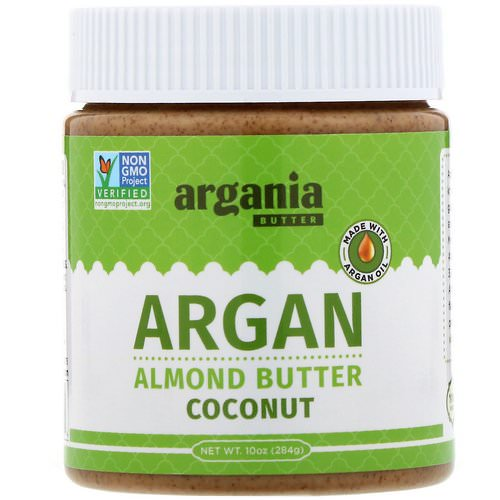 Argania Butter, Argan Almond Butter, Coconut, 10 oz (284 g) Review