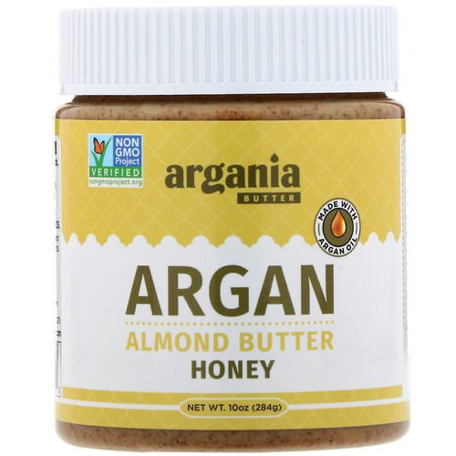 Argania Butter, Argan Almond Butter, Honey, 10 oz (284 g) Review