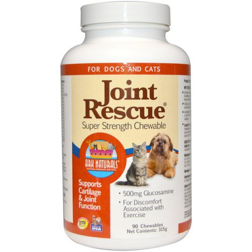 Ark Naturals, Joint Rescue, Super Strength Chewable, For Dogs & Cats, 90 Chewables (315 g) Review
