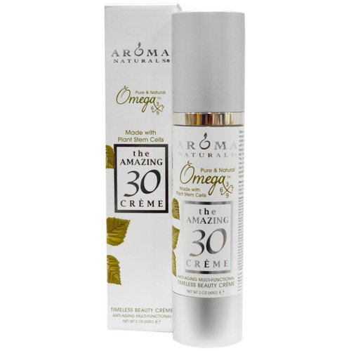 Aroma Naturals, The Amazing 30 Creme, Anti-Aging Multi-Functional, 2 oz (60 g) Review