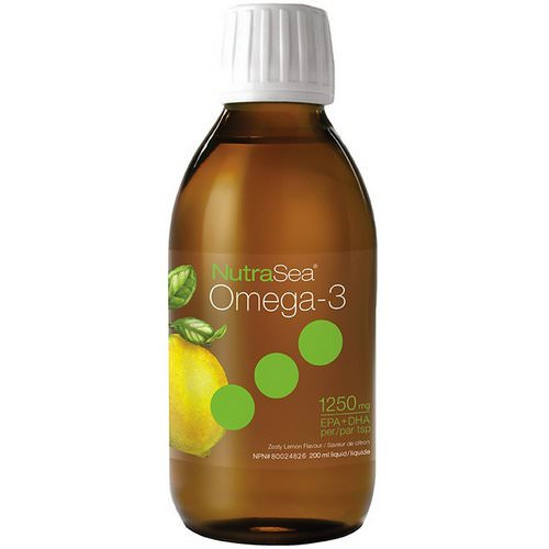 Ascenta, Nutra Sea, Omega-3, Zesty Lemon Flavor, 6.8 fl oz (200 ml) Review