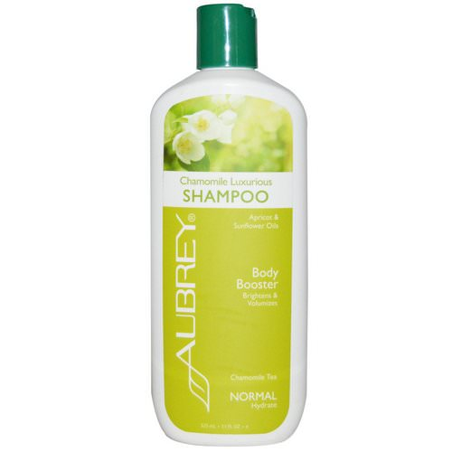 Aubrey Organics, Chamomile Luxurious Shampoo, Body Booster, Normal, 11 fl oz (325 ml) Review