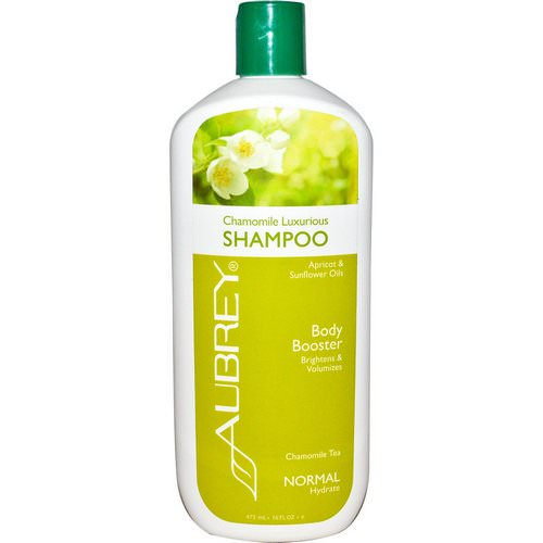 Aubrey Organics, Chamomile Luxurious Shampoo, Chamomile Tea, Normal, 16 fl oz (473 ml) Review