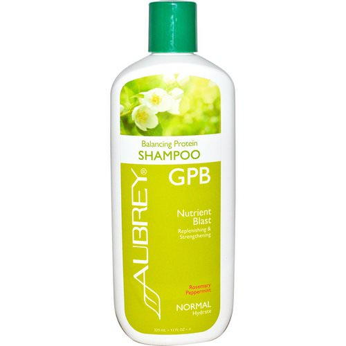 Aubrey Organics, GPB Balancing Protein Shampoo, Rosemary Peppermint, Normal, 11 fl oz (325 ml) Review