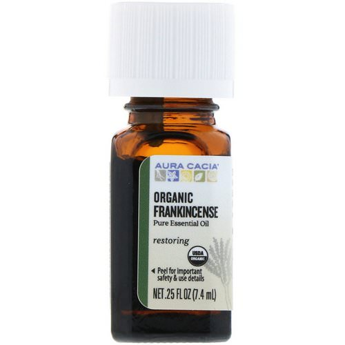 Aura Cacia, Organic Frankincense, .25 fl oz (7.4 ml) Review