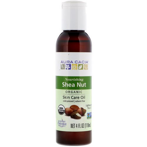 Aura Cacia, Organic, Skin Care Oil, Shea Nut, 4 fl oz (118 ml) Review
