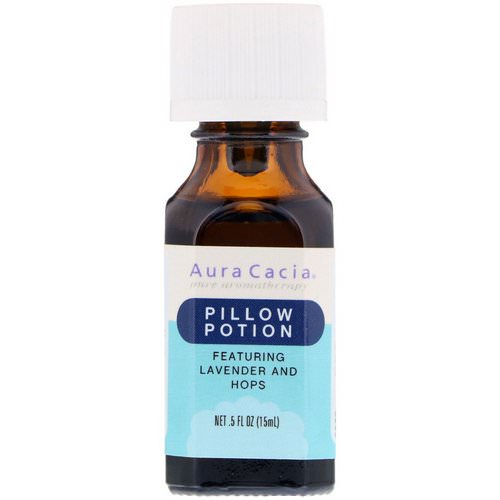 Aura Cacia, Pillow Potion, Lavender And Hops, .5 fl oz (15 ml) Review
