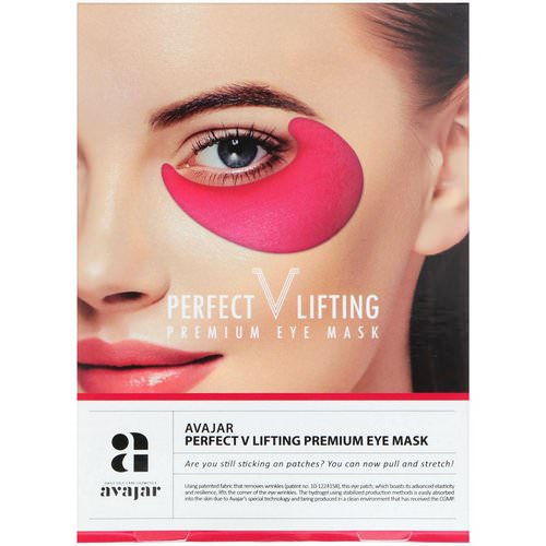 Avajar, Perfect V Lifting Premium Eye Mask, 2 Masks Review