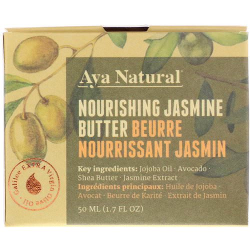 Aya Natural, Nourishing Jasmine Butter, 1.7 fl oz (50 ml) Review