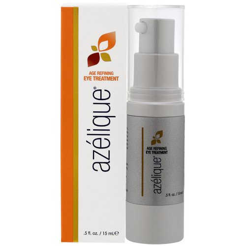 Azelique, Age Refining Eye Treatment, with Azelaic Acid, Rejuvenating and Hydrating, No Parabens, No Sulfates, .5 fl oz (15 ml) Review