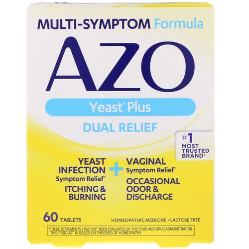Azo, Yeast Plus, 60 Tablets Review